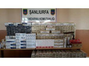 Şanlıurfa'da Kaçak Sigara Ve Uyuşturucu Hap Ele Geçirildi