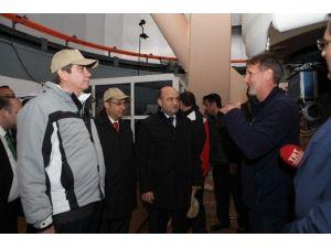 Bakan Işık Ulusal Gözlemevini Ziyaret Etti