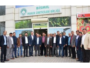 Şanlıurfalı Çiftçilerden Diyarbakır'a 'Sayaç' Ziyareti