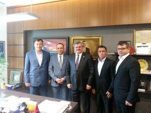 Demir Ve Rödevans İşletmecilerinden Çaturoğlu'na Teşekkür Ziyareti