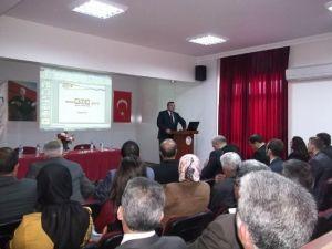 İlçe Milli Eğitim Müdürleri Toplantısı Aydıncık'ta Yapıldı