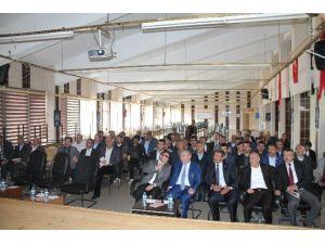 Çat'ta 'Geleceğimiz İçin Ailece El Ele' Projesi Tanıtım Toplantısı