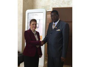 Atasoy, Burkina Faso'nun Eski Başbakanı İle Görüştü