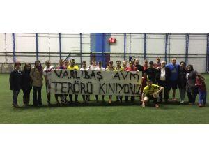 Varlıbaş AVM, Yeşil Sahada Terörü Kınadı