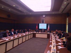 Eczacılık fakültesi dekanları Meclis'te eczacı vekillere beklentilerini iletti