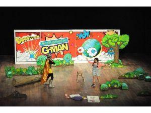 Çocuk Festivali Tiyatro Şenliğinde 3 Bin 500 Kişiye Ulaşıldı