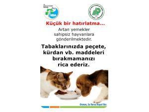 Bakanlık bakımevlerindeki hayvanlara yiyecek desteği sağlıyor