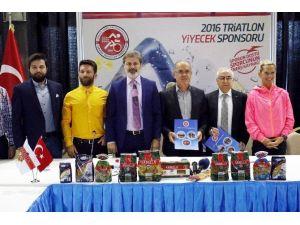 Arbella Makarna İle Triatlon Federasyonu Arasında Sponsorluk Anlaşması