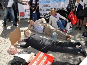 CHP'lilerden İlginç Eylem
