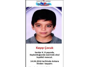 Emniyet Müdürlüğü, kayıp olan çocuğun fotoğrafını paylaştı