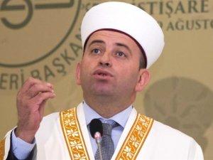 """Karadağ İslam Meşihatı Başkanı, Cumhurbaşkanı Erdoğan'a Verdiği """"Sakal"""" Sözünü Tuttu"""
