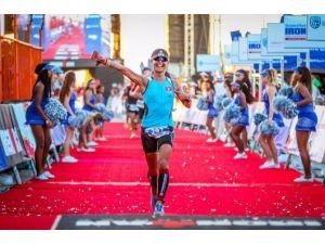 Milli Triatlet Bahar Saygılı, Güney Afrika'da İkinci Oldu