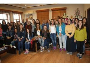 Gazi Üniversitesi öğrencileri Kapadokya'da