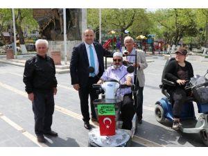 Çınarcık Belediyesi'nden Engelliler İçin Şarj İstasyonu