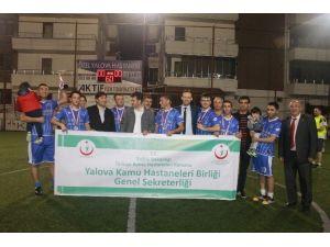 Sağlıkçıların Futbol Turnuvasını Sağlığıngücü Kazandı