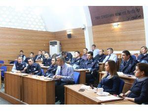 Bolu Belediyesi Zabıta Ekipleri Eğitiliyor