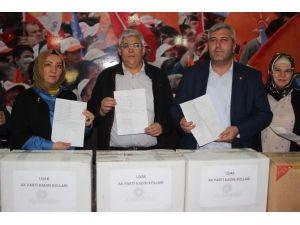 Uşak AK Parti'den Terörle Mücadele Eden Güvenlik Güçlerine Destek