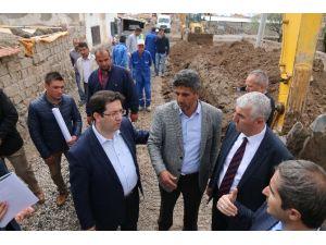 Aksaray'da Alt Yapı Çalışmaları