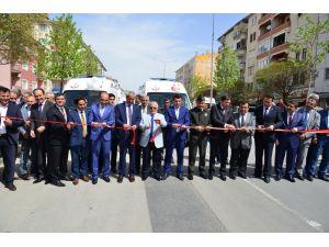Kırşehir'de kurumların araç filosuna 19 yeni araç daha eklendi