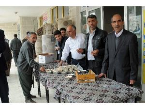 Çelikhan İlçesinde Bin 200 Kişiye Sütlaç Dağıtıldı