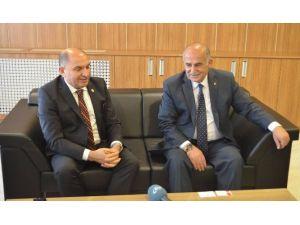 CHP Kocaeli Milletvekili Tahsin Tarhan'dan MTSO'ya Ziyaret