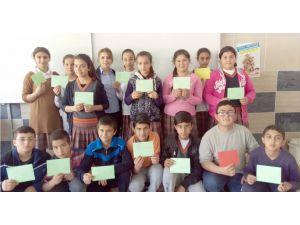 Yerköylü öğrencilerden, Nusaybin'deki güvenlik güçlerine moral mektubu
