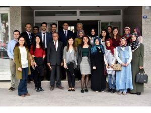 Aday Öğretmenlerden Başkan Acar'a Ziyaret