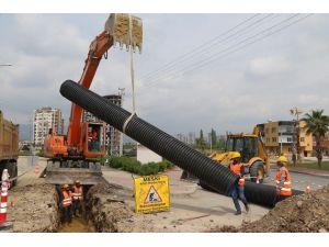 Meski'nin Kanalizasyon Çalışmaları Sürüyor