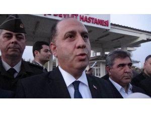 """Amasya Valisi: """"Çatı Uçarak Mahkumların Üzerine Düştü, 81 Yaralı Var"""""""