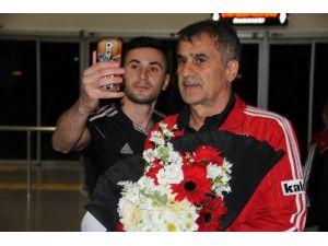 Lider Beşiktaş'a Sivas'ta Coşkulu Karşılama