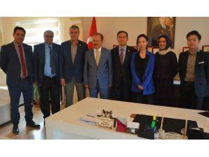 Güney Kore Büyükelçisi Yun-soo Cho, Haymana Kaplıcalarını İnceledi