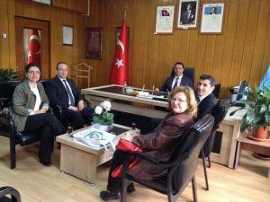 Nazilli Kent Konseyi'nden MEB İlçe Müdürlüğüne Ziyaret