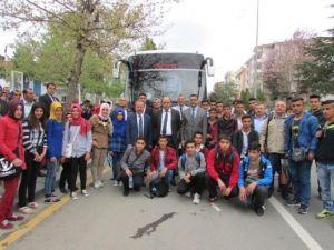 Haymanalı Öğrenciler Çanakkale Yolunda