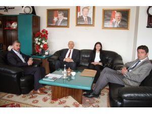 TÜİK Bölge Müdüründen Erzincan Belediyesine Ziyaret