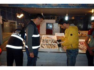 Zabıtadan Bayat Balık Operasyonu