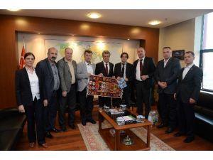 Bosna Podrinje Kantonu Başbakanı Okoviç'ten BTSO'ya Ziyaret