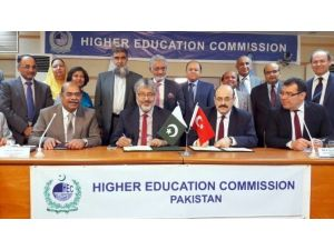 Pakistan İle Yükseköğretim Alanında Geniş Kapsamlı İşbirliği Protokolü İmzalandı