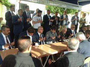 MHP'li Başkanlardan Şehidin Baba Ocağına Taziye Ziyareti