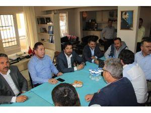 Didim Karadenizliler Derneği AK Parti Yönetimini Ağırladı