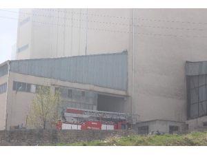 Beyşehir'de Yem Fabrikasında Yangın
