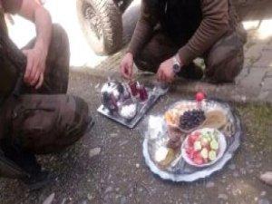 Silopililerden Özel Harakatçılara Sıcak Çay ve Kahvaltı İkramı