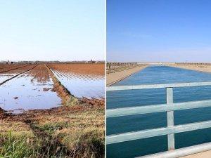 Harran'ın suyu boşa akıyor