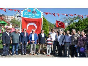 Bandırma'da Şehit Mahmet Kutlu Parkı Açıldı