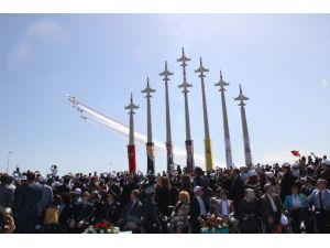 Türk Yıldızları Parkı Görkemli Gösteriyle Açıldı