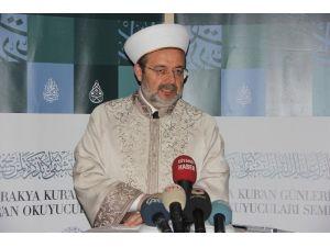 Diyanet İşleri Başkanı Görmez'den 'Cenaze Marşı' Açıklaması