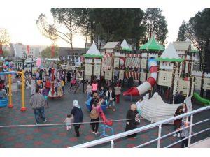 Çan Belediyesi Termal Parkı Törenle Açıldı