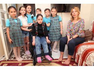 Harçlıklarını Biriktirip Tekerlekli Sandalye Aldılar