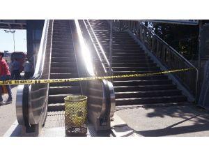 Avcılar Metrobüs Durağında Hareketli Dakikalar