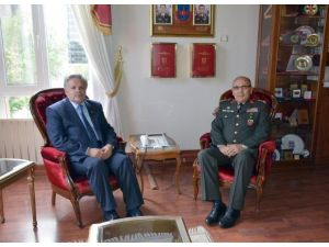 Vali Kahraman'dan İstanbul Jandarma Bölge Komutanı Tümgeneral Ali Özkara'ya Ziyaret