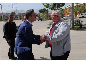Başkan Şirin'den Hal Esnafına Ziyaret